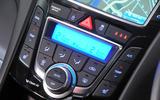Hyundai i30 Turbo climate controls