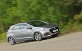 Hyundai i30 Turbo cornering