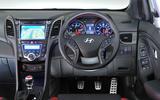 Hyundai i30 Turbo dashboard