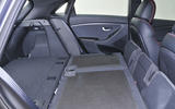 Hyundai i30 folded seats