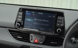 Hyundai i30 infotainment system