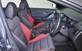 Hyundai i30 Turbo interior