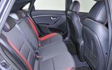 Hyundai i30 Turbo rear seats