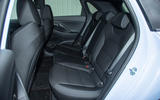Hyundai i30 N rear seats