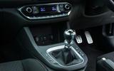 Hyundai i30 N centre console