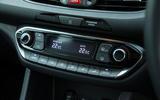 Hyundai i30 N climate controls