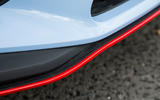 Hyundai i30 N red exterior trim