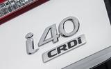 Hyundai i40 badging