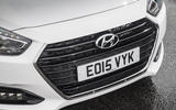 Hyundai i40 front grille