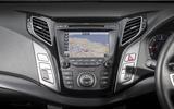 Hyundai i40 infotainment system
