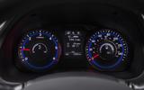 Hyundai i40 instrument cluster