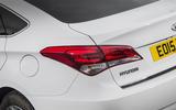Hyundai i40 rear lights