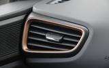 Hyundai Ioniq air vents