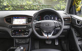 Hyundai Ioniq dashboard