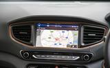 Hyundai Ioniq infotainment system