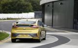 Hyundai Ioniq rear cornering