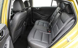 Hyundai Ioniq rear seats