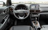 Hyundai Kona dashboard
