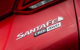 Hyundai Santa Fé badging