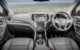 Hyundai Santa Fé dashboard