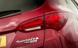 Hyundai Santa Fé rear lights