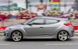 Hyundai Veloster Turbo side profile
