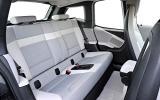 BMW i3 rear seats