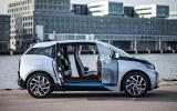 BMW i3 doors opened