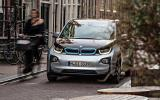BMW i3 in town