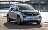 BMW i3 EV front quarter
