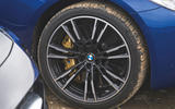 BMW M5 2018 long-term review muddy alloy wheels