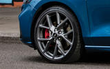 Ford Focus ST 2019 UK first drive review - alloy wheels