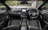 Ford Focus ST 2019 UK first drive review - dashboard