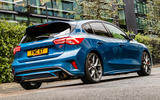 Ford Focus ST 2019 UK first drive review - static rear