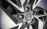 Geely Geometry A 2019 prototype drive - alloy wheels