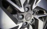 Geely Geometry A 2019 prototype drive - alloy wheels