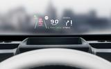 Geely Geometry A 2019 prototype drive - HUD