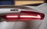 Geely Geometry A 2019 prototype drive - rear lights