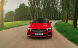 Mercedes-Benz A-Class A250 2018 UK review on the road front