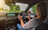 Mercedes-Benz A-Class A250 2018 UK review cabin