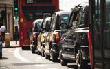 ULEZ used cars - London traffic queue