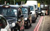 ULEZ used cars - taxi rank