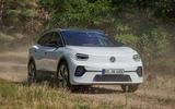 2021 Volkswagen ID 4 prototype drive - offroad front