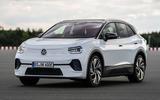 2021 Volkswagen ID 4 prototype drive - static front