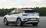 2021 Volkswagen ID 4 prototype drive - static rear