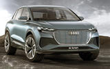 Audi Q4 E-tron 2021 - static front