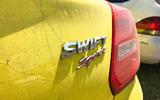 Suzuki Swift Sport 2018 long-term review Goodwood dirt