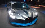 The Bugatti Divo is being shown in Paris