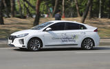 Hyundai Ioniq autonomous