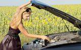 Checking oil levels in your car